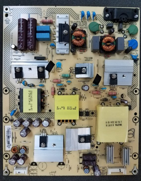Sharp PLTVEY701XAL5, Power Supply/LED Board LC-50LB370U Rev.A-PR, Board number 715G6335-P02-003-003M